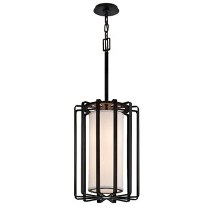 Troy Lighting Drum 2-Light Cylinder Pendant