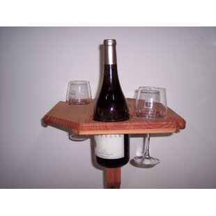 Gipe Outdoor Portable Solid Wood Bistro Table