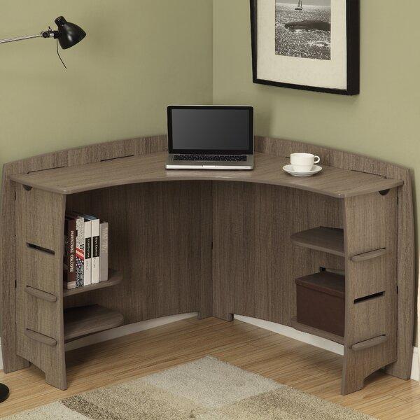 bright and modern driftwood desk.  Legare Furniture Wayfair