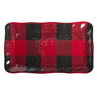 Buffalo Rectangular Melamine Platter By TAG