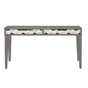Clouds 115cm W Writing Desk By Ebern Designs