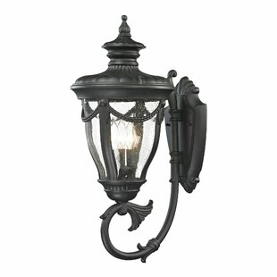 Astoria Grand Santos 3-Light Outdoor Wall lantern