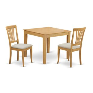 Cobleskill 3 Piece Dining Set by Alcott Hill New Design