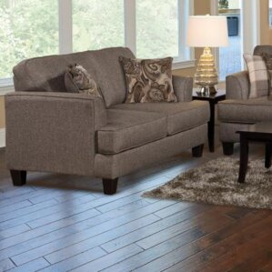 Agnes Upholstery Loveseat by Alcott Hill