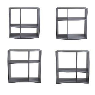 Faircloth Standard Bookcase (Set of 3)