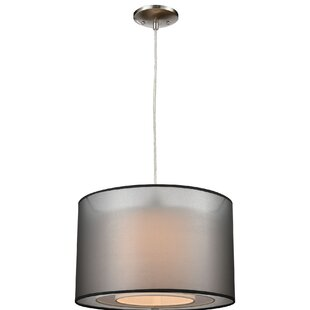 Hisle 1-Light Drum Pendant..