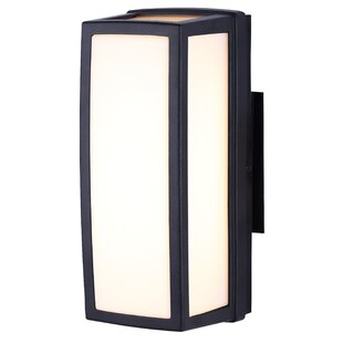 Price comparison Capp LED Outdoor Sconce By Brayden Studio