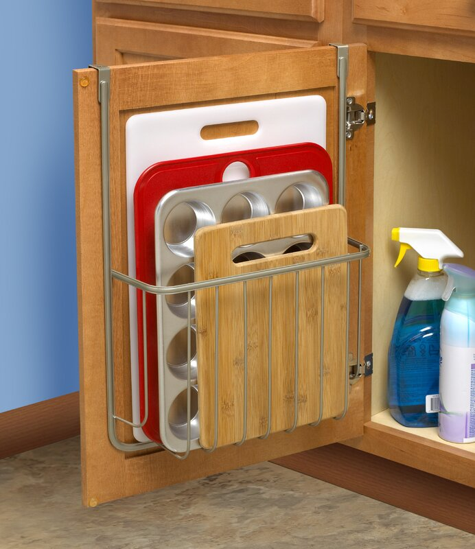 Rebrilliant Over the Cabinet Cutting Board and Bakeware Holder ...
