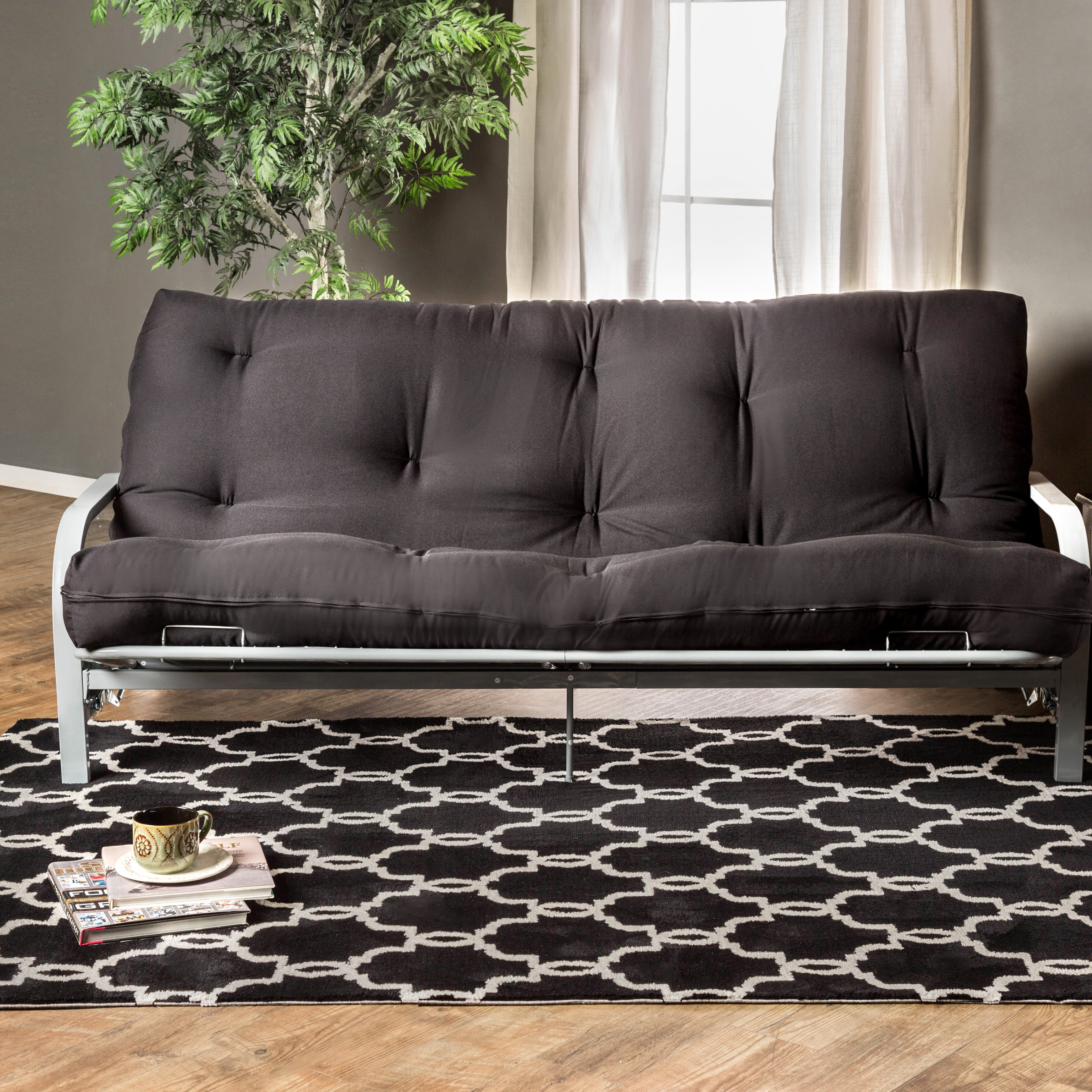Swell Erazo 8 Memory Foam Full Size Futon Mattress Gmtry Best Dining Table And Chair Ideas Images Gmtryco