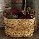 Attleboro 3 Piece Wicker/Rattan Basket Set