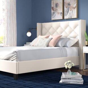 Best Price Elsmoriet Queen Upholstered Platform Bed by Mercer41 Reviews (2019) & Buyer's Guide