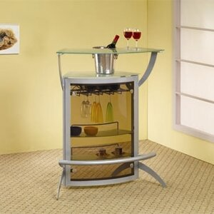 Rayford Mini Bar with Wine Storage