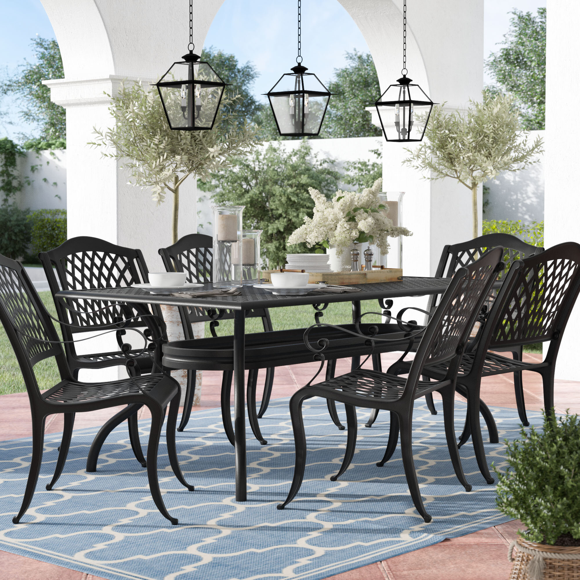 patio dining table furniture set top with sets