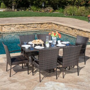 Kissner Outdoor 7 Piece Dining Set by Zipcode Design