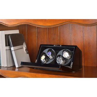 Savings Double Winder Watch Box ByWildon Home ®
