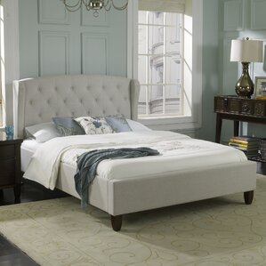 Brooklyn Upholstered Platform Bed by Luxury Home