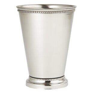 Cashwell Beaded 3 oz. Stainless Steel Julep Glass