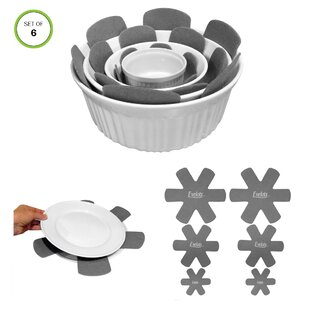 Evelots S/6 Assorted Pot Protector (Set of 6)
