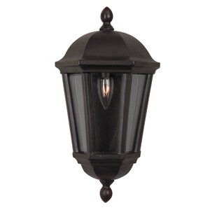 Price comparison Oakhill 1-Light Outdoor Flush Mount By Charlton Home