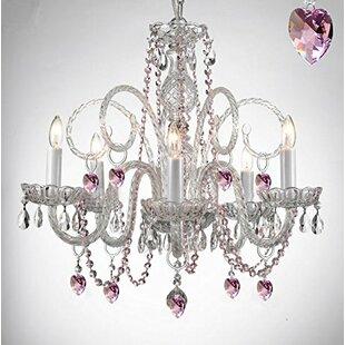 House of Hampton Keeble 5-Light Candle Style Chandelier