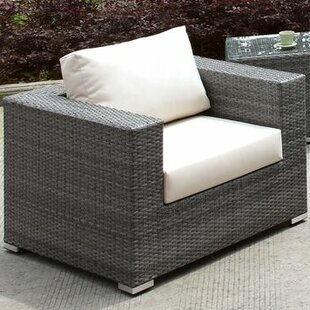Peters Outdoor Arm Chair with Cushions by Brayden Studio