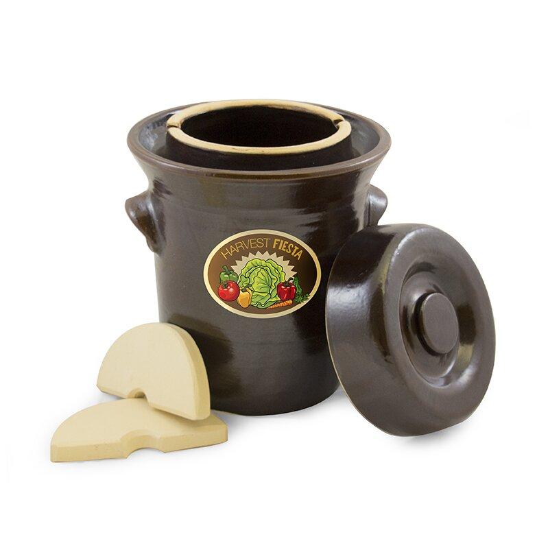Tsm Products Harvest Fiesta Fermentation Crock Pot Reviews Wayfair