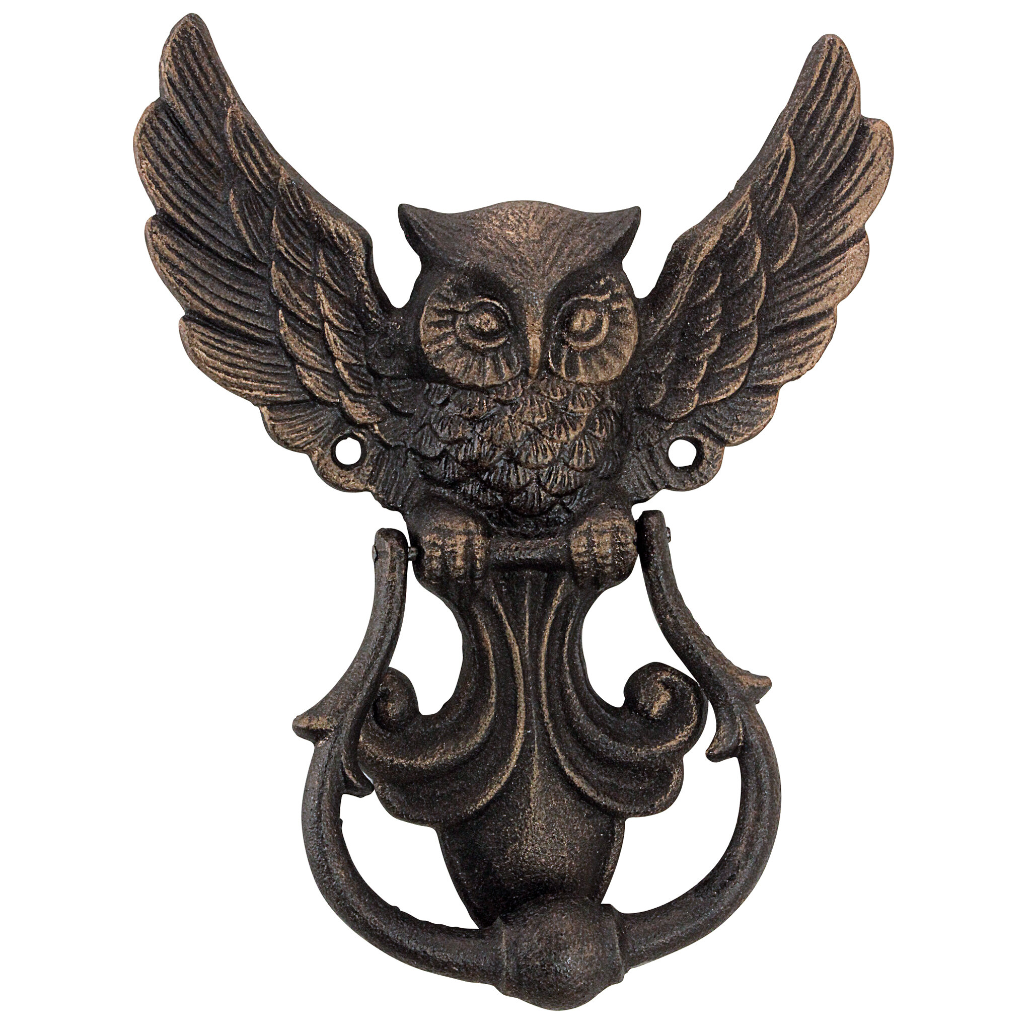 Genial Design Toscano Mystical Spirit Owl Authentic Foundry Door Knocker U0026 Reviews  | Wayfair