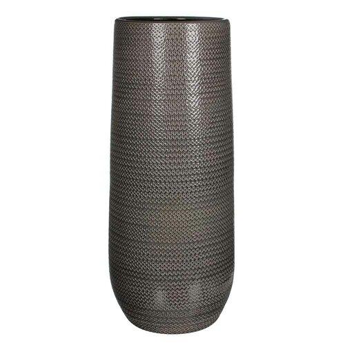 Bodenvase Gabriel | Dekoration > Vasen > Bodenvasen | Grau | Sfeer voor jou