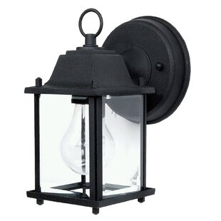 Read Reviews Glenmont 1-Light Outdoor Wall Lantern By Charlton Home