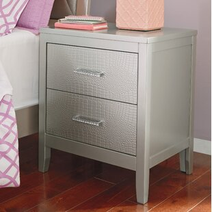 Affordable Upham 2 Drawer Nightstand by Rosdorf Park Reviews (2019) & Buyer's Guide