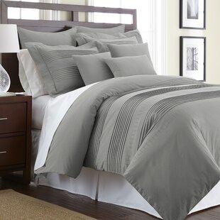 Gray Silver Sleek Chic Modern Duvet Covers Sets You Ll Love In 2021 Wayfair
