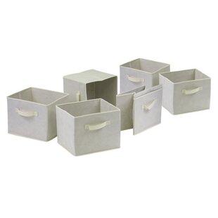 Best Reviews Decker Storage Cube (Set of 6) ByZipcode Design