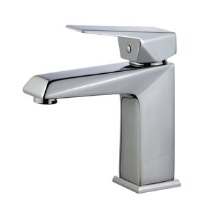 Bellaterra Home Valencia Single Hole Bathroom Faucet with Drain Assembly