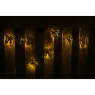 Winsome House Butterfly Boxes 10-Light Novelty String Lights