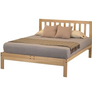 charleston 2 platform bed - Wood Frame Bed