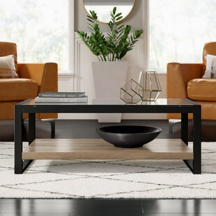 Theodulus Coffee Table with Tray Top