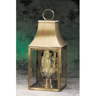 Brook Farm 1-Light Outdoor Wall Lantern by Darby Home Co