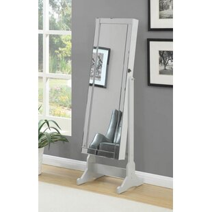 Best Choices Burslem Free Standing Jewelry Armoire with Mirror by Darby Home Co