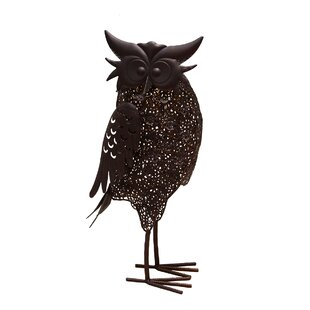 Oakland Living Hammer Owl 3 Light LED Pathway Light