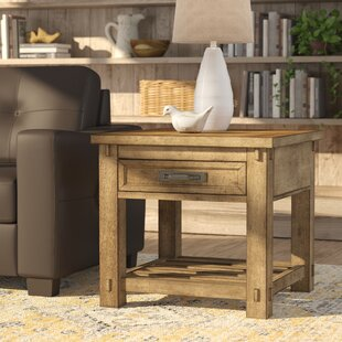 August Grove Woen End Table