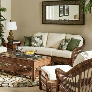 Bermuda Bamboozel Plantain Sofa by South Sea Rattan