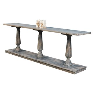 "Artin 106"" Solid Wood Console Table by One Allium Way SKU:ED266645 Information"