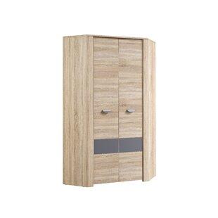 Bramley 2 Door Corner Wardrobe By Ebern Designs