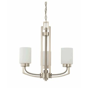 Winston Porter Arrington 3-Light Shaded Chandelier