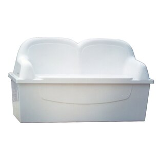 Plastic Storage Bench by Better Way Products Today Only Sale