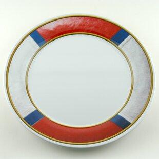 Decorated Melamine Life Preserver Non-skid Platter (Set of 2)