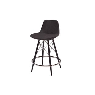 Nohlan Wool 29 Bar Stool Wrought Studio