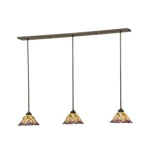 Meyda Tiffany Daffodil Bell 3-Light Kitch..