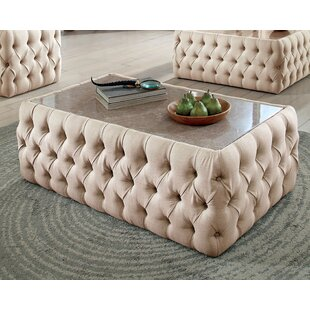 Find the perfect Regan Upholstered Coffee Table by Everly Quinn Reviews (2019) & Buyer's Guide