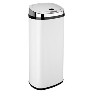 Addis Sensor Kitchen Bin Stainless Steel Quality For General Refuse Or Recycling 50l